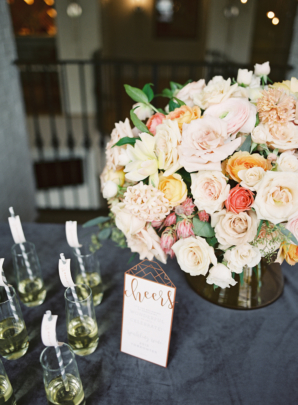 Coral and Blush Wedding Flowers