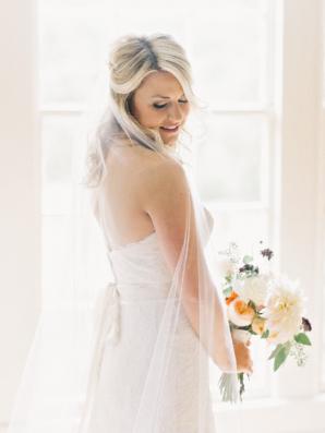 Elegant Bridal Portrait Amy Arrington