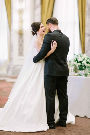 Elegant Dubai Wedding Ideas Save the Date 1