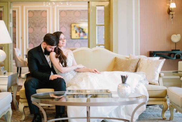 Elegant Dubai Wedding Ideas Save the Date 8