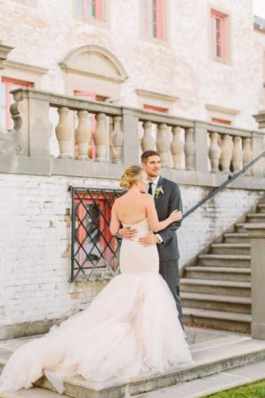 Elegant Villa Wedding Inspiration 4