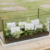 Escort Cards in Herb Box
