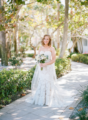 Lace Anne Barge Gown