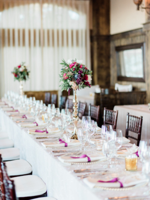 Long Table for Wedding Reception