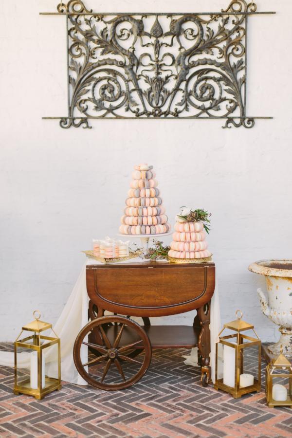 Macaron Wedding Dessert Station