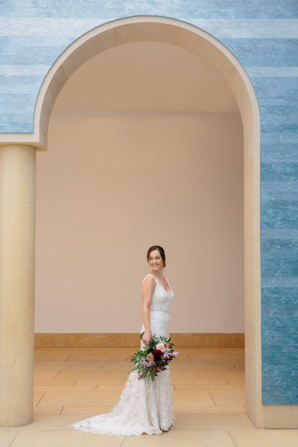 Modern Museum Wedding Ideas