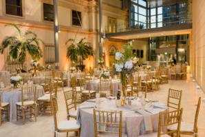 Modern Museum Wedding Reception