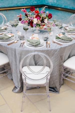 Modern Wedding Table at Museum