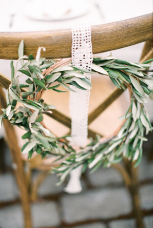 Olive Leaf Wreath for Wedding