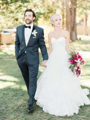 Romantic Lake Tahoe Wedding