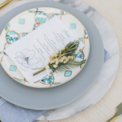 Rustic Outdoor Place Setting