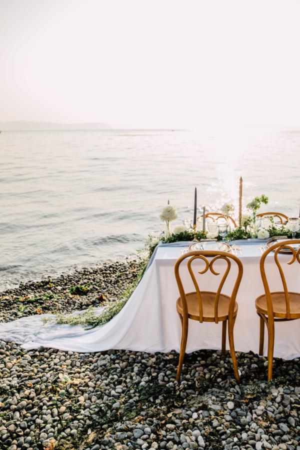 Seattle Beach Wedding Party Ideas