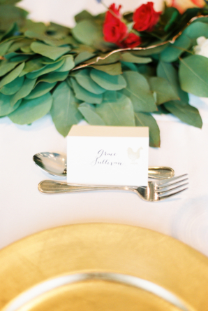 Simple Place Cards for Wedding