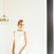 Sleek Theia Wedding Dress