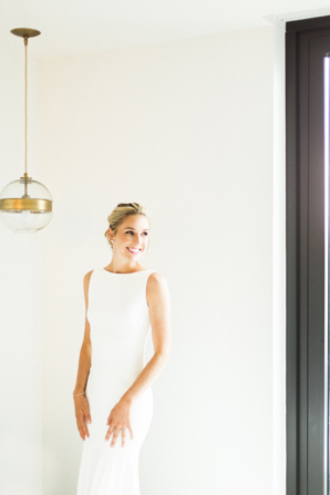 Sleek Theia Wedding Dress
