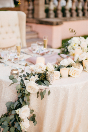 Sweetheart Table Garland Decor