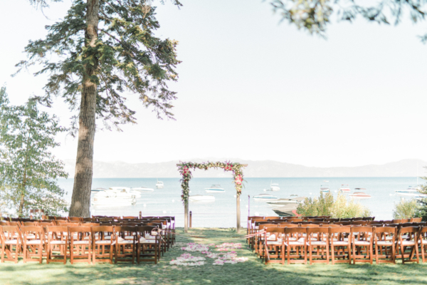 Tahoe Waterside Wedding Ceremony
