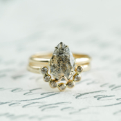 Unique Alternative Engagement Ring