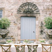 Vintage Italian Inspired Wedding Decor