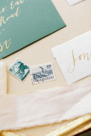 Vintage Stamps for Wedding