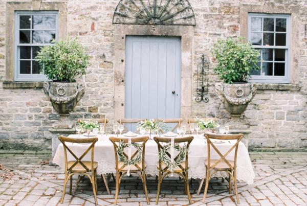 Wedding Inspiration at English Country Manor