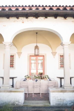 Wedding Table at Villa