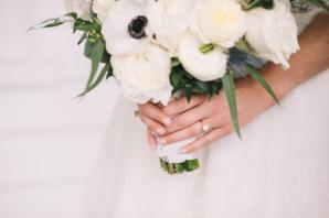 White Bridal Bouquet 1