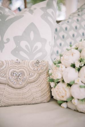 Beaded Bridal Clutch