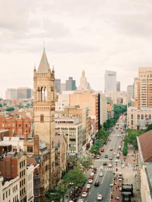 Boston from Lenox Hotel