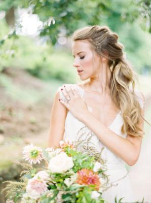 Bride with Loose Braid