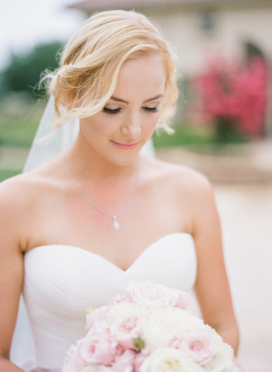 Bride with Soft Updo