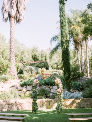 California Outdoor Wedding Ceremony