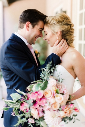 Colorful and Romantic Santa Barbara Wedding