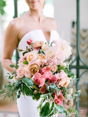 Large Tropical Wedding Bouquet