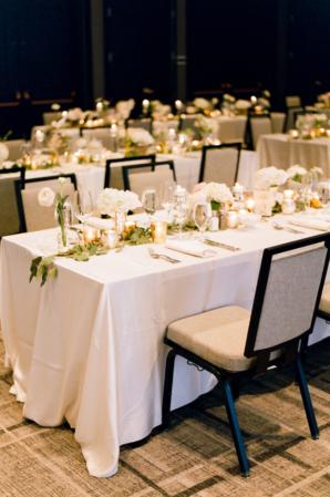 Modern Hotel Ballroom Wedding