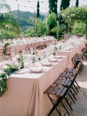 Outdoor Wedding at Santa Barbara Villa