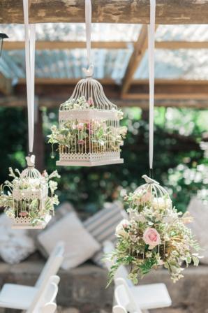 Shabby Chic Birdcage Wedding Decor