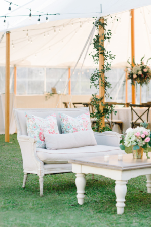 Shabby Chic Wedding Lounge Area
