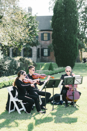String Trio at Wedding Ceremony