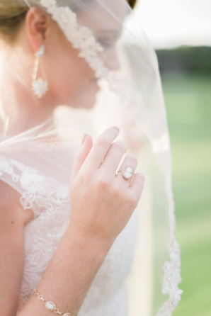 Bride with Cameo Ring