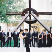Dallas Wedding Nasher Sculpture Garden 12