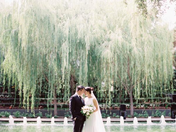 Dallas Wedding Nasher Sculpture Garden 4