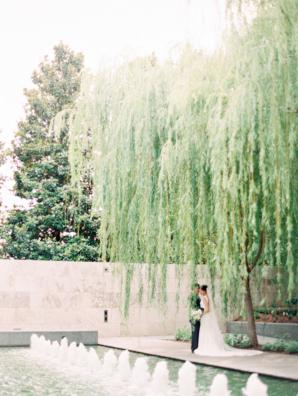 Dallas Wedding Nasher Sculpture Garden 7
