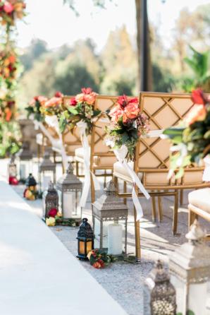 Elegant Fall Wedding Decor