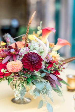 Fall Wedding Flowers 1