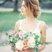 Garden Wedding Inspiration Honey Gem Creative 6