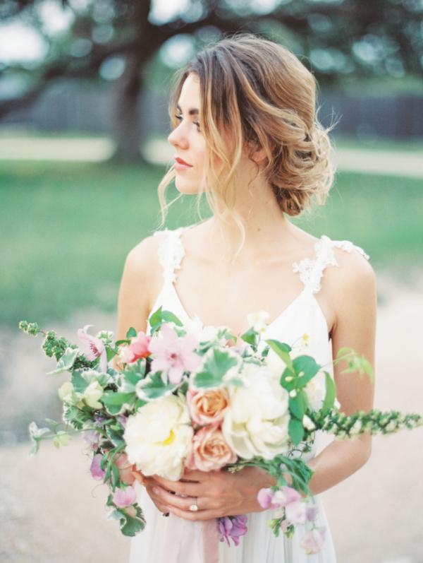 Garden Wedding Inspiration Honey Gem Creative 6