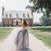Historic Virginia Mansion Styled Shoot 5