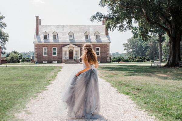 Historic Virginia Mansion Styled Shoot 5