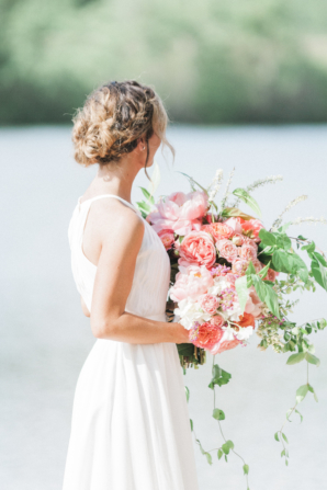 Hot Pink Peony Bouquet
